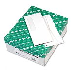 Business Window Envelope Contemporary #10 White Recycled Box of 500 (QUA21316)