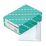"Open Side Booklet Envelope Contemporary 9"" x 6"" White Box of 100 (QUA37113)"