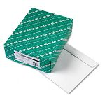 "Open Side Booklet Envelope Contemporary 13"" x 10"" White Box of 100 (QUA37613)"