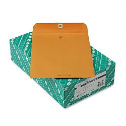 "Clasp Envelope Recycled 9"" x 12"" 28 Lb. Light Brown Box of 100 (QUA38190)"