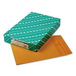"Redi-Seal Catalog Envelope 10"" x 13"" Light Brown Box of 100 (QUA43767)"
