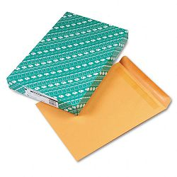 "Redi-Seal Catalog Envelope 12"" x 15-12"" Light Brown Box of 100 (QUA44067)"