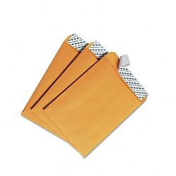 "Redi-Strip Catalog Envelope 6"" x 9"" Light Brown Box of 100 (QUA44162)"