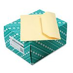 "Open Side Booklet Envelope Traditional 12"" x 9"" Cameo Buff Box of 100 (QUA54411)"