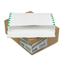"Tyvek Booklet Expansion Mailer 1st Class 10"" x 15 x 2"" White 18 Lb. Carton of 100 (QUAR4460)"