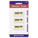 MAGIC RUB Art Eraser 3Pack (SAN70503)