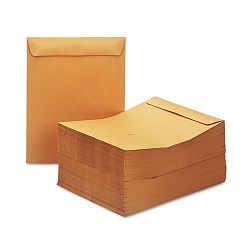 "Catalog Envelope Side Seam 10"" x 13"" Light Brown Box of 250 (UNV44105)"