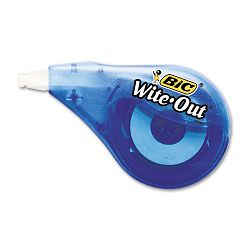"Wite-Out EZ Correct Correction Tape Non-Refillable 16"" x 397"" (BICWOTAPP11)"