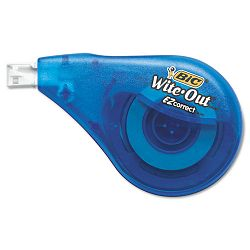 "Wite-Out EZ Correct Correction Tape Non-Refillable 16"" x 472"" Pack of 2 (BICWOTAPP21)"