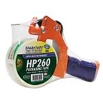 "Bladesafe Antimicrobial Tape Gun with Tape 3"" Core MetalPlastic Orange (DUC1078566)"
