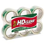 "Heavy-Duty Carton Packaging Tape 1.88"" x 55 yds. 6 Rolls Clear (DUCCS556PK)"