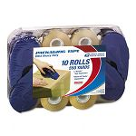 "HD2 Ultra Heavy-Duty Tape Refill Rolls 2"" x 55 yards 4 Dispensers 10 Rolls (LEP82115)"