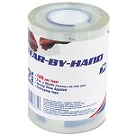 "Tear-By-Hand Packaging Tape 2"" x 50 yards Pack of 2 Clear (LEP83731)"