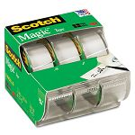 "Magic Office Tape Refillable Dispenser 34"" x 300"" Box of 3 (MMM3105)"