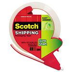 "Sure Start Packaging Tape with Dispenser 1.88"" x 38.2 yards 1.88"" Core Clear (MMM3450SRD)"