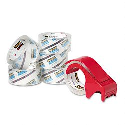 "3850 Heavy Duty Packaging Tape 1.88"" x 54.6 yards Clear Pack of 6 (MMM38506DP3)"