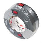 "Poly-Coated Cloth Duct Tape General Maintenance 2"" x 60 yards Silver (MMM3900)"