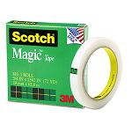 "Magic Office Tape 34"" x 72 yards 3"" Core Clear (MMM810342592)"