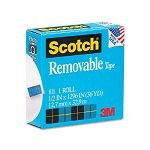 "Removable Tape 12"" x 1296"" 1"" Core (MMM811121296)"