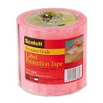 "Labelgard Shipping Label System 2.5 Mil Pink Tint Film Tape 4"" x 72 yd. Roll (MMM82104)"