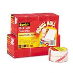 "Book Repair Tape 8-Roll Multi-Pack 15-yard Rolls 3"" Core (MMM845VP)"