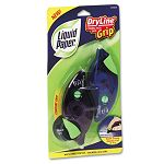 "DryLine Grip Correction Tape 15"" x 335"" BluePurple Dispensers Pack of 2 (PAP87813)"