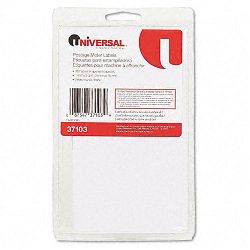 Self-Adhesive Postage Meter Labels 1-12w x 2-34 or 5-12 White 160-SheetPack (UNV37103)