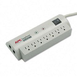 SurgeArrest Personal Pwr Surge Protector with Tel Protect 7 Outlets 6ft Cord (APWPER7T)