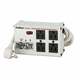 ISOBAR4ULTRA Isobar Surge Suppressor Metal 4 Outlet 6ft Cord 3330 Joules (TRPISOBAR4ULTRA)