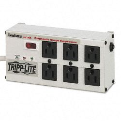 ISOBAR6ULTRA Isobar Surge Suppressor Metal 6 Outlet 6ft Cord 3330 Joules (TRPISOBAR6ULTRA)