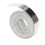 "Rhino Metal Label Non-Adhesive Tape 12"" x 16 ft. Aluminum (DYM31000)"