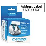 "Address Labels 1-18"" x 3-12"" White Box of 520 (DYM30320)"