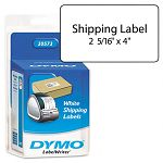 "Shipping Labels 2-18"" x 4"" White 220Pack (DYM30573)"
