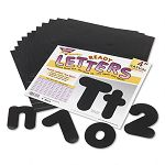 "Ready Letters Casual Combo Set Black 4""h Set of 182 (TEPT79901)"