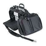 "Contour 15"" Laptop Carrying Case Nylon 16-12"" x 6-12"" x 12-12"" Black (KMW62220)"