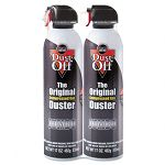 Disposable Compressed Gas Duster 2 17oz CansPack (FALDPSJMB2)