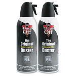 Disposable Compressed Gas Duster 2 10oz CansPack (FALDSXLPW)