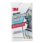"Microfiber Electronics Cleaning Cloth 12"" x 14"" White (MMM9027)"