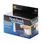 "Notebook ScreenKleen Pads Cloth 2 12"" x 5 14"" White Box of 24 (REARR1217)"