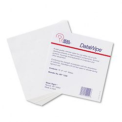 "DataWipe Office Equipment Cleaner Cloth 6"" x 6 White Pack of 75 (REARR1250)"