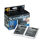 "ScreenKleen Alcohol-Free Wipes Cloth 5"" x 5"" Box of 14 (REARR1291)"