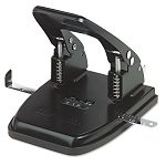 "30-Sheet Two-Hole Punch 932"" Diameter Hole Black (UNV74222)"