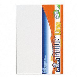 "Guide-Line Paper-Laminated Polystyrene Foam Display Board 20"" x 30"" White Pack of 2 (EPI905100)"