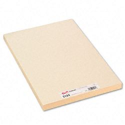 "Medium Weight Tagboard 18"" x 12"" Manila Pack of 100 (PAC5184)"
