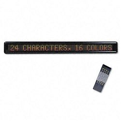 "LED Electronic Moving Message Sign 39-12"" x 1-78"" x 4-12"" (USS3527)"