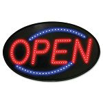 "Newon LED Sign RedBlue 13"" x 21"" (USS5583)"