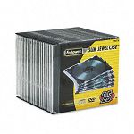 Thin Jewel Case ClearBlack Pack of 25 (FEL98316)