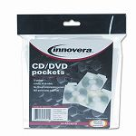 CDDVD Pockets Pack of 25 (IVR39701)