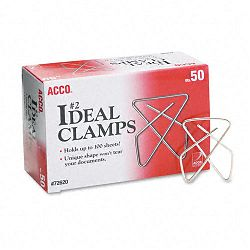 "Ideal Clamps Steel Wire Small 1-12"" Silver Box of 50 (ACC72620)"