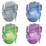 Fabric Panel Wall Clips Standard Size Assorted Metallic Colors Pack of 20 (AVT75338)
